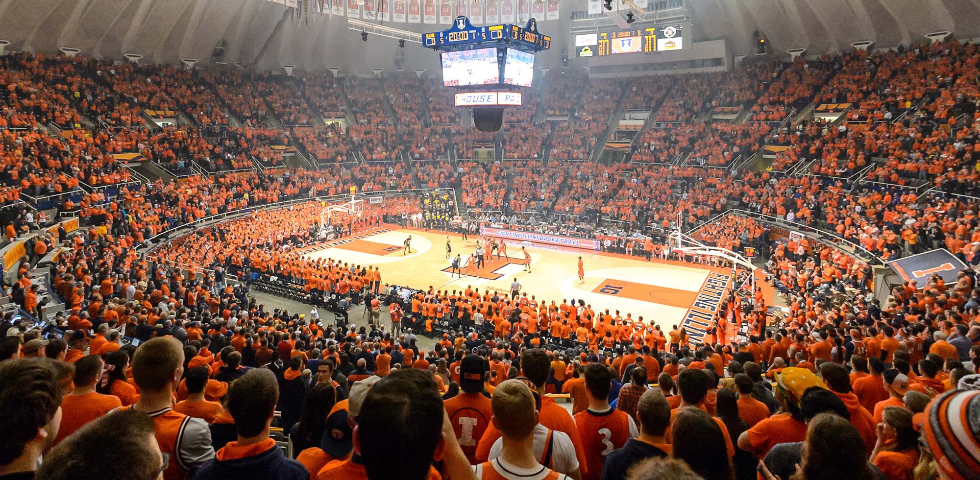 Illinois Athletics   Facilities   State Farm Center 2000x980