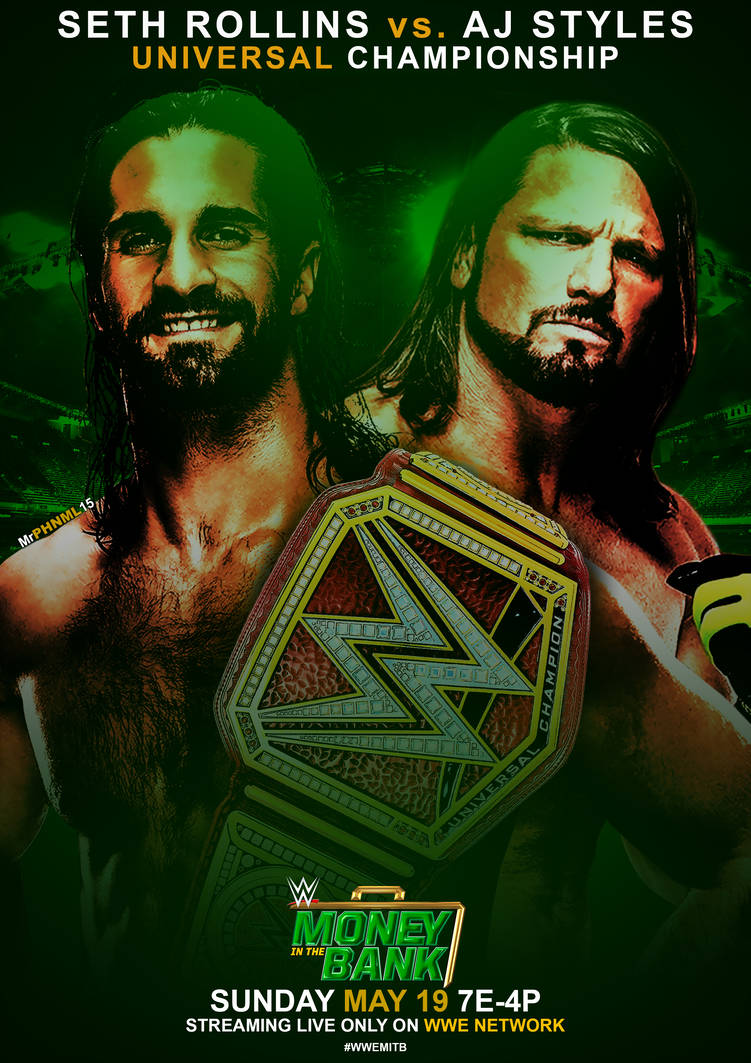 WWE Money in the Bank 2019   Custom Poster by MrPHENOMENAL15 on 751x1063