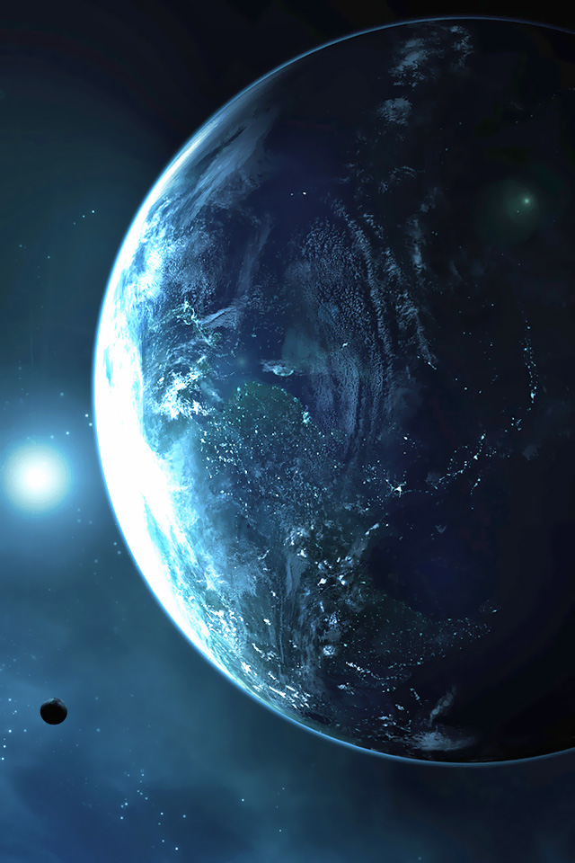 Iphone earth wallpaper wallpapersafari - Middle earth iphone wallpaper ...