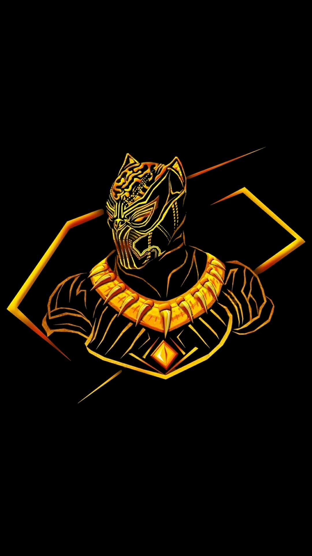 16 Black Panther Gold Wallpapers On Wallpapersafari