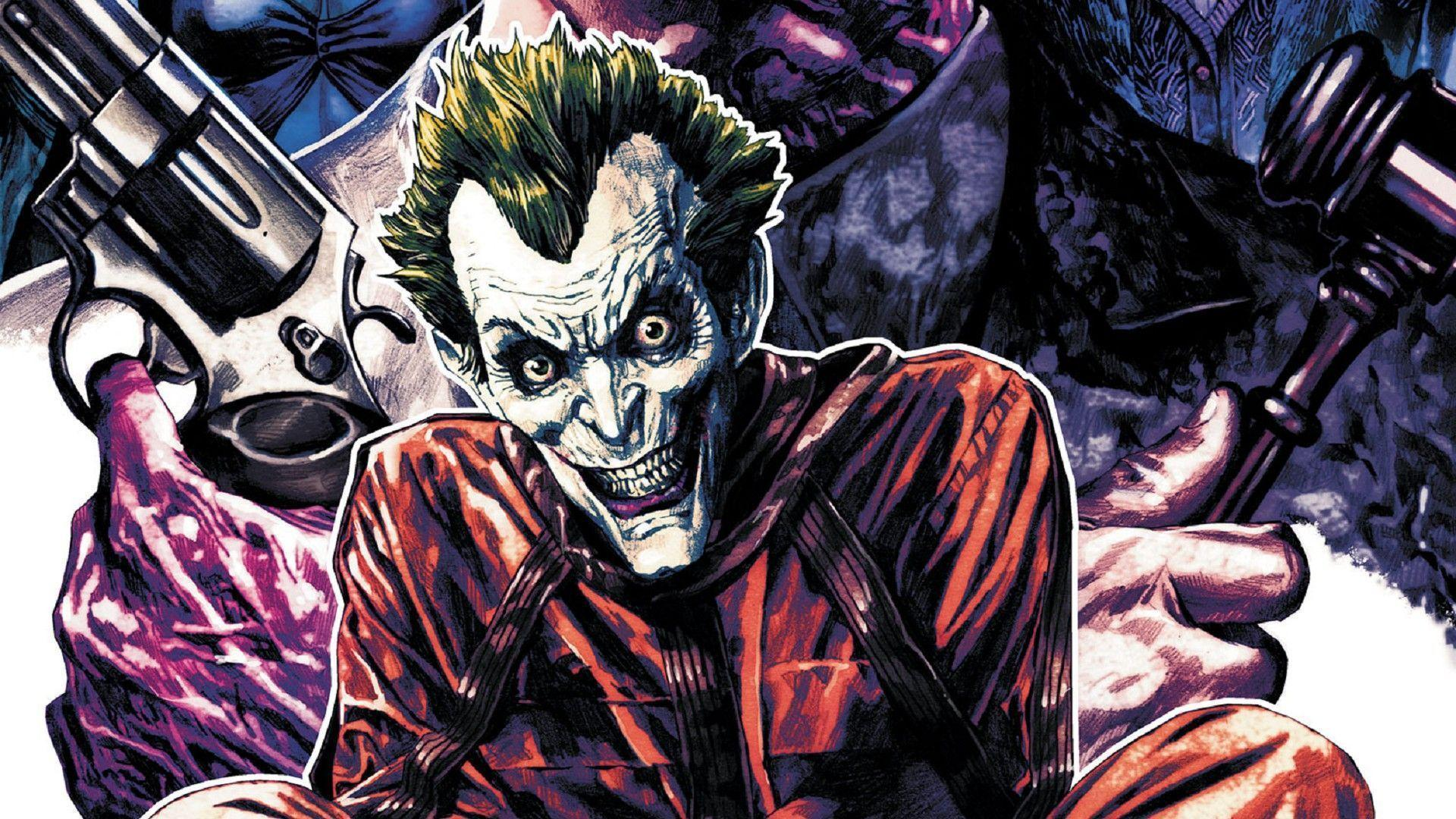 Joker Comic Wallpapers 1920x1080