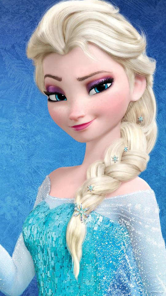 Frozen Snow Queen Elsa iPhone 6 6 Plus and iPhone 54 Wallpapers 540x960