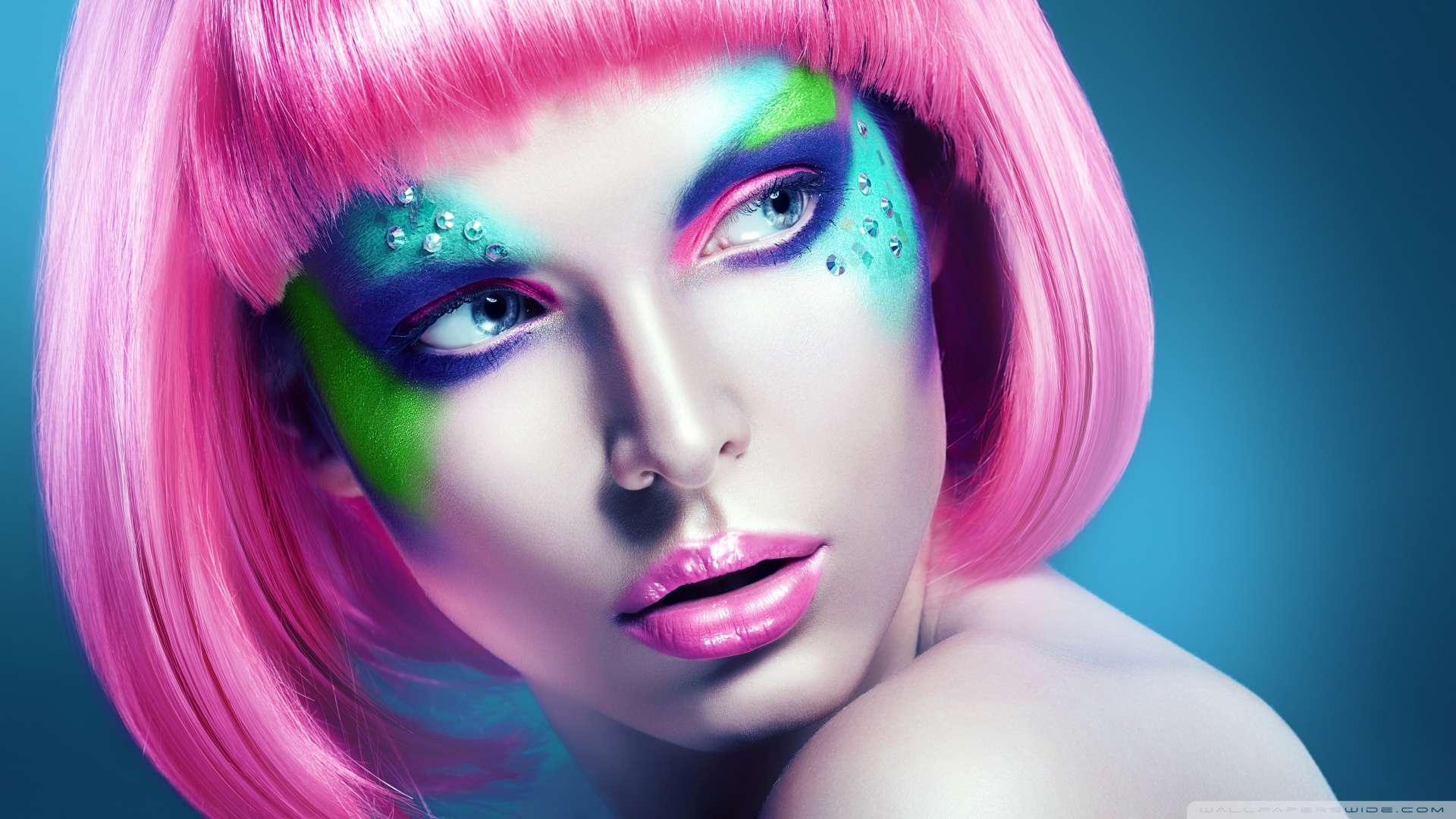 animated makeup wallpaper - photo #48