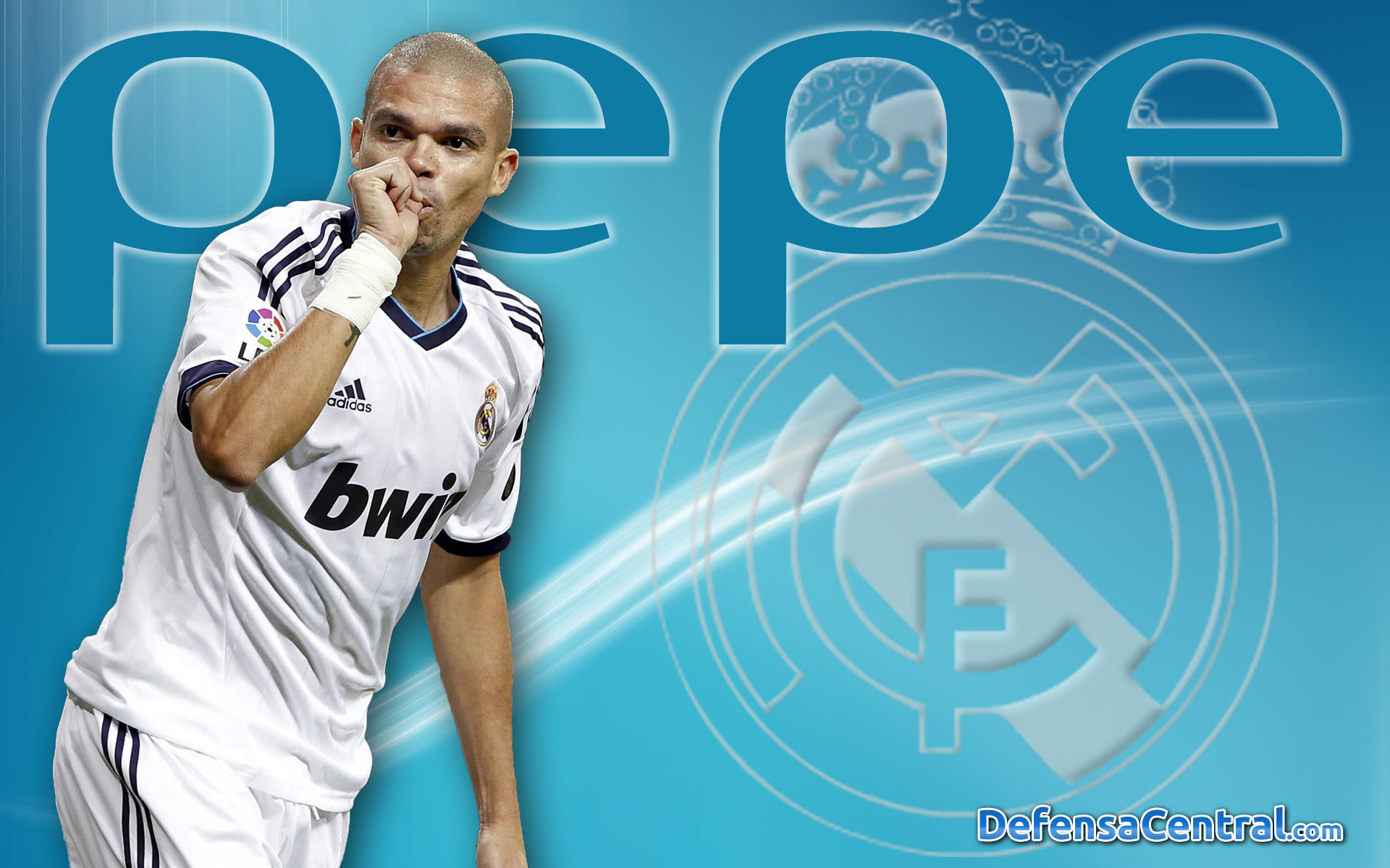 2014 pepe real madrid wallpaper download Desktop Backgrounds for 1920x1200