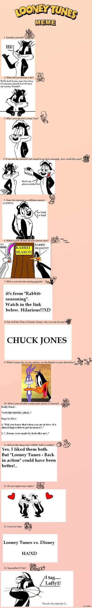 My Looney Tunes meme by MizzAmy15 348x2298