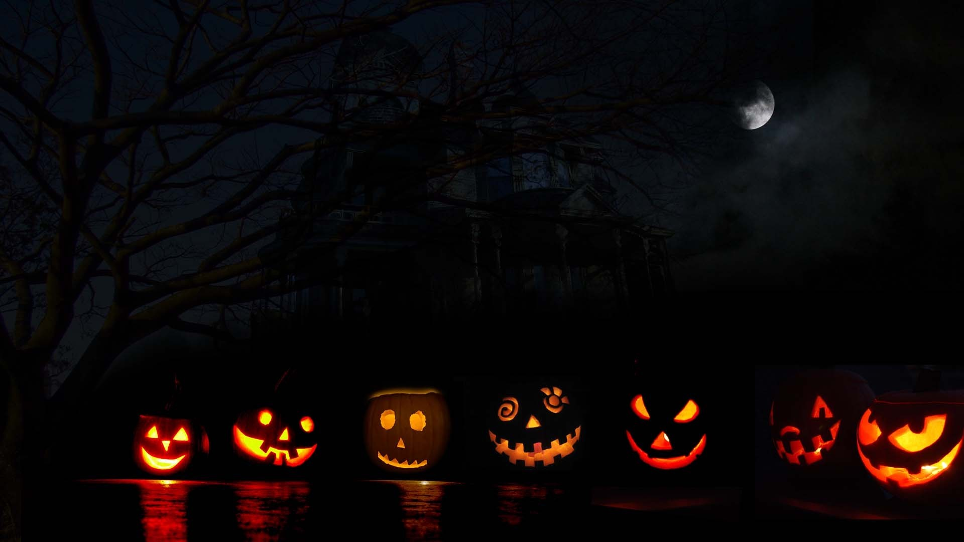 78 Halloween Desktop Wallpapers on WallpaperPlay 1920x1080