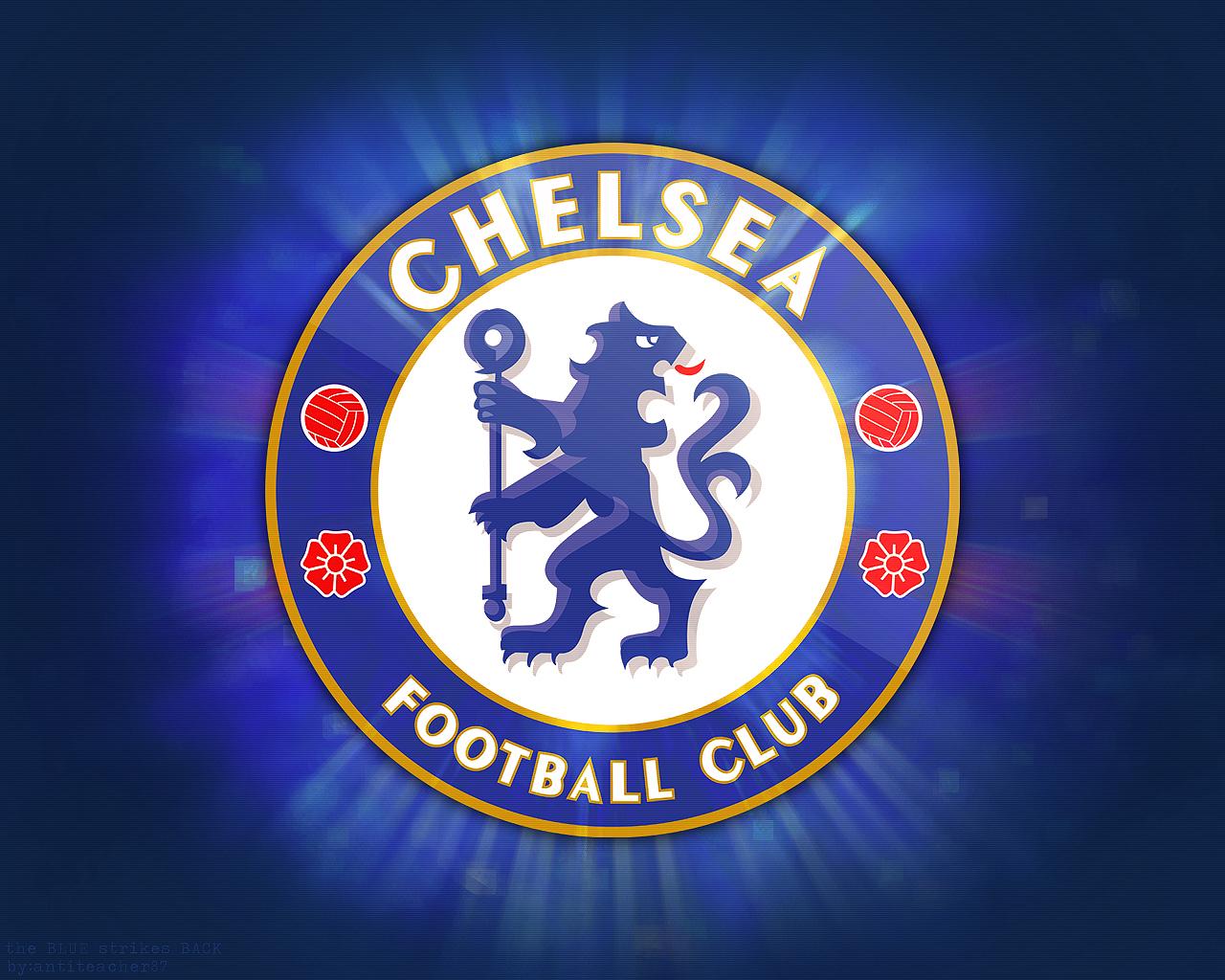 Blason Chelsea FC Coloriage Chelsea FC imprimer 1280x1024