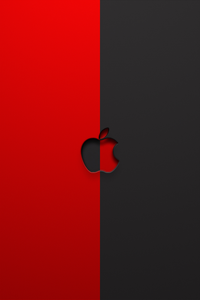 red black and white iphone wallpaper apple logo wallpaper apple logo 640x960