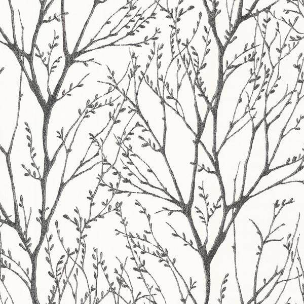 Delamere Black Tree Branches Wallpaper Bolt   Contemporary   Wallpaper 600x600