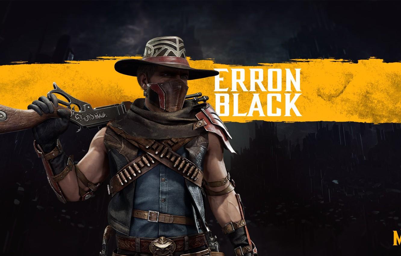 Wallpaper cowboy the gun fighter mercenary mortal Kombat 1332x850