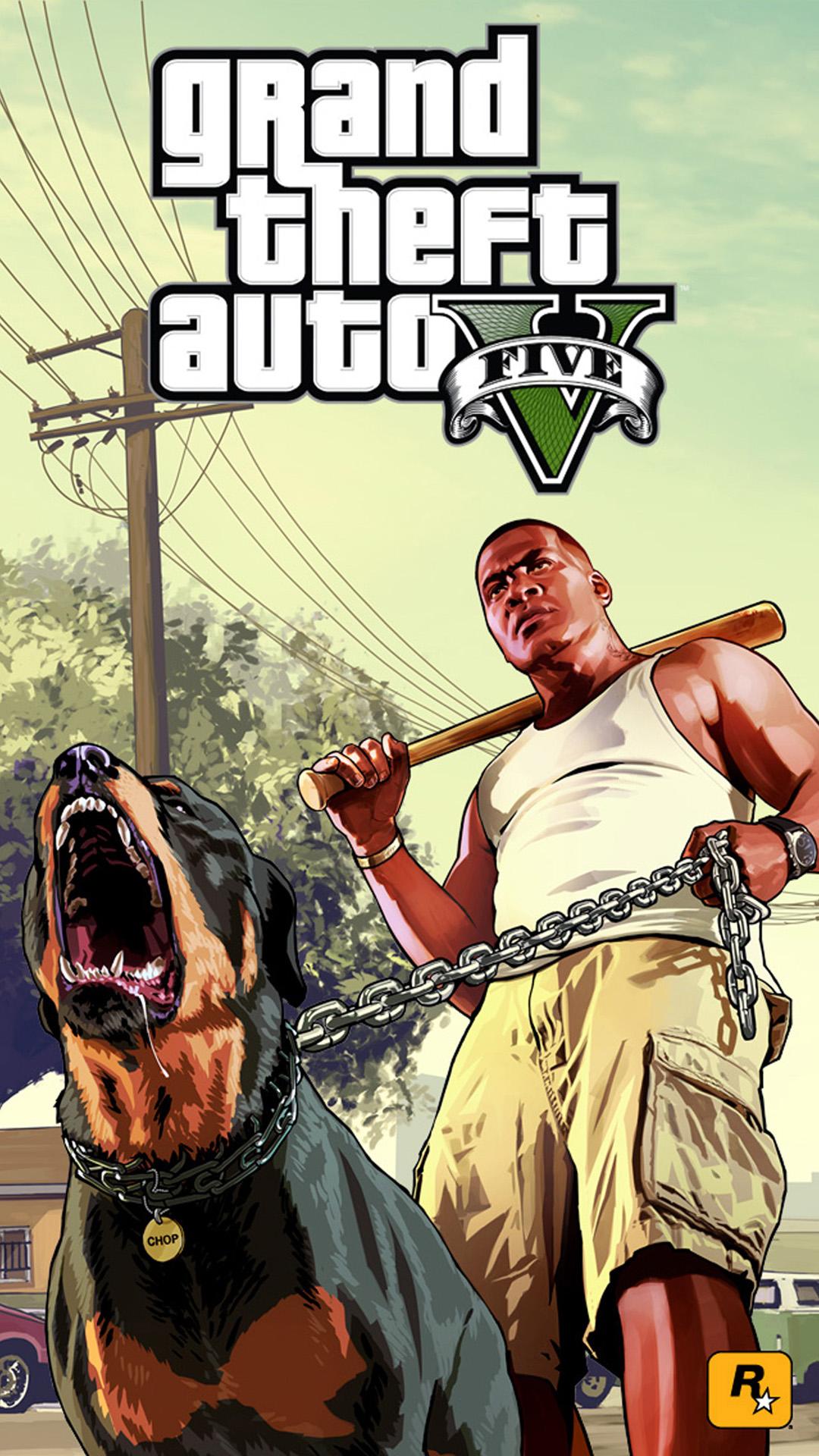1080x1920px Gta V Phone Wallpaper Wallpapersafari
