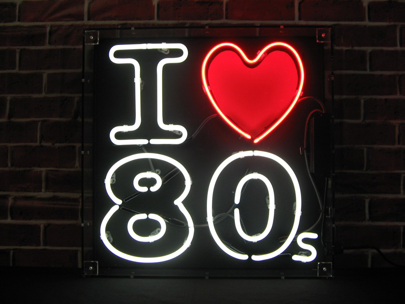 Our I Love 80s Neon Sign comes with Delivery plus we have the 800x600