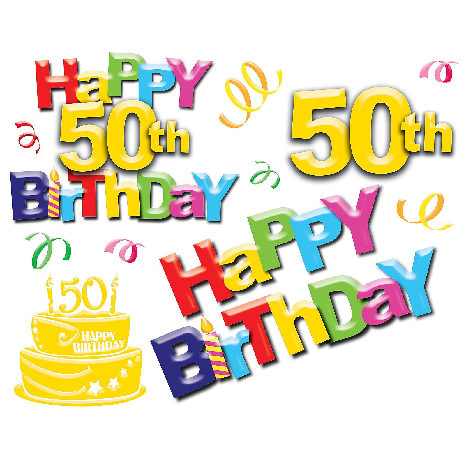 50Th Birthday Wallpaper