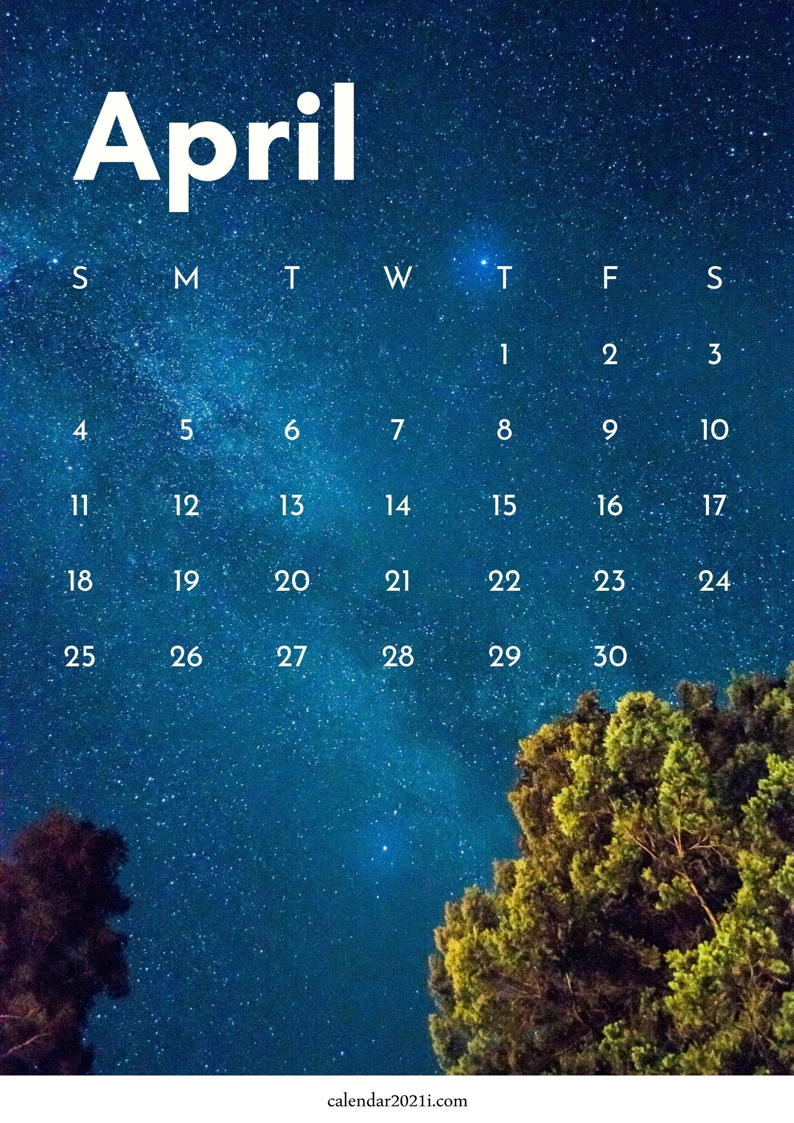 iPhone April 2021 Calendar Wallpapers Download Calendar 2021 1587x2245