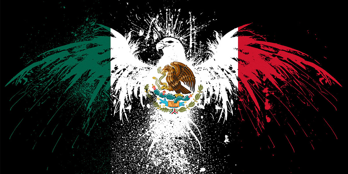 Mexico Flag Twitter Cover Twitter Background TwitrCovers 1200x600