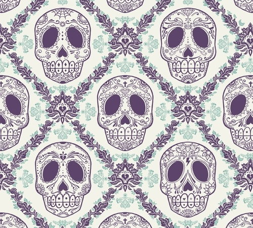 Sugar Skulls Ad Work Inspiration Pinterest Skull 500x451
