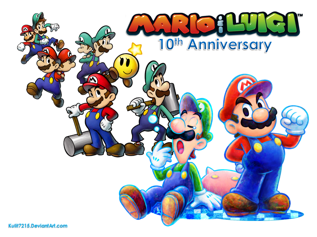 78 Mario And Luigi Wallpaper On Wallpapersafari