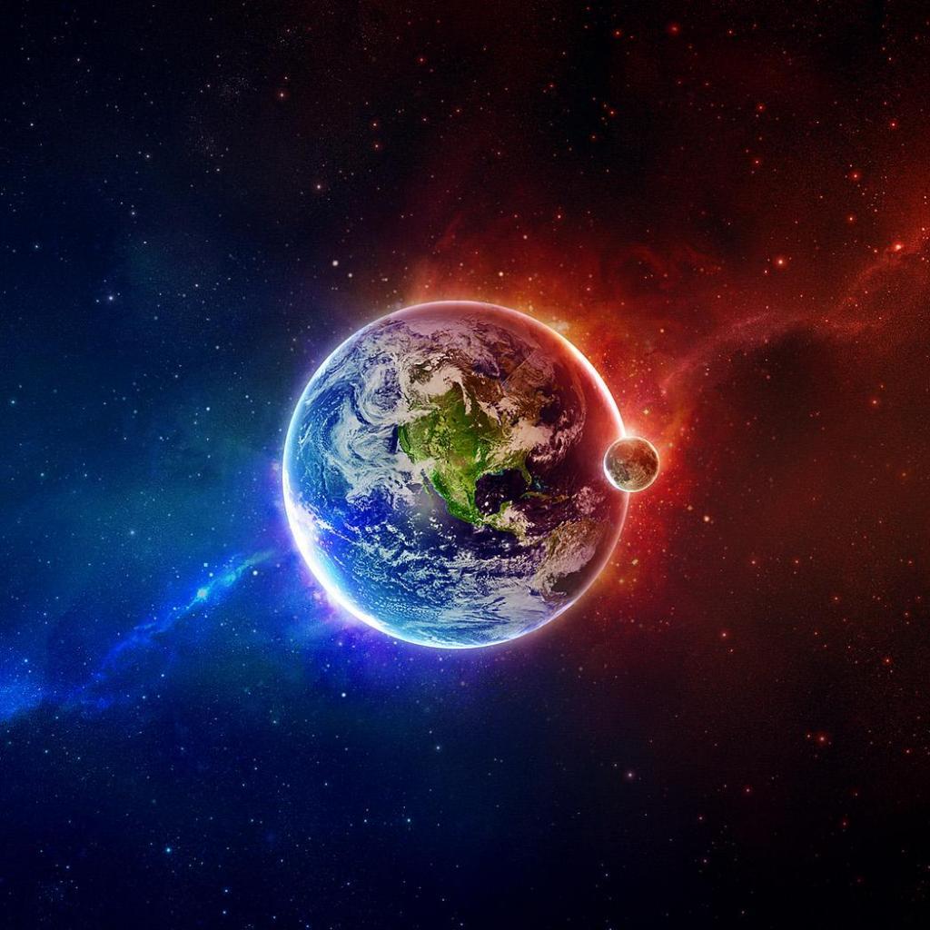Planet Earth iPad Wallpaper   Download iPad wallpapers 1024x1024