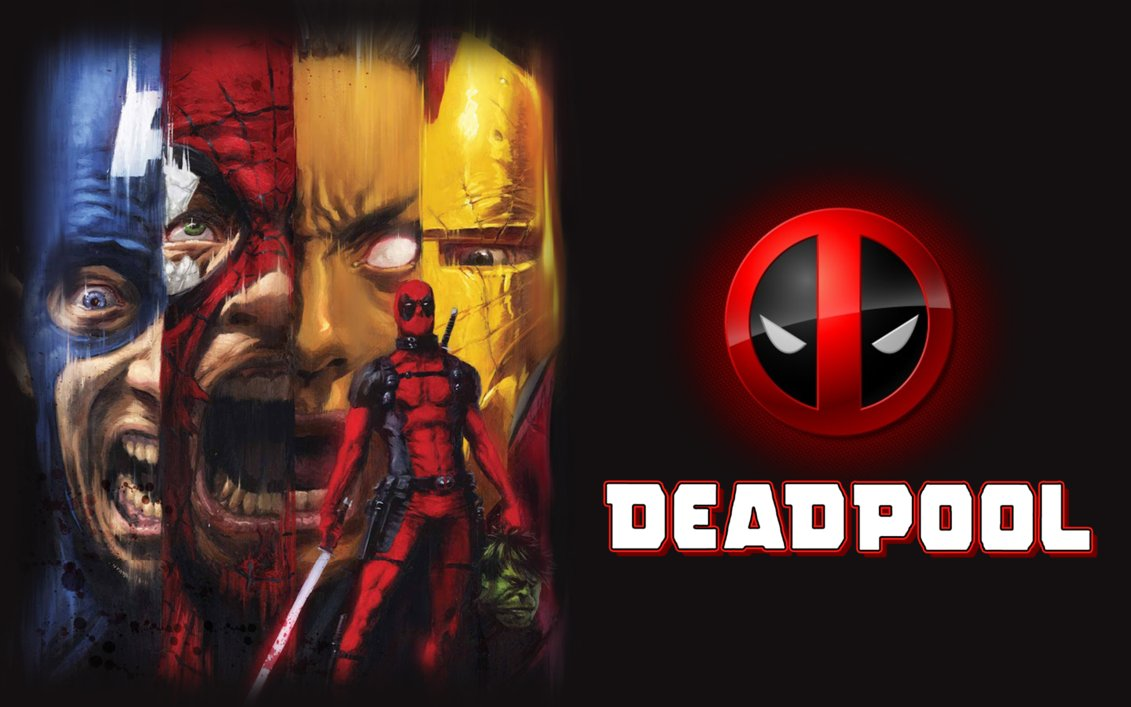 Dwade Wow Fission Hd Logo: 3D Deadpool Logo Wallpaper