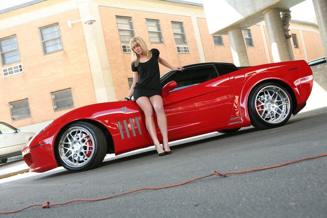 Corvette Girls Wallpaper Wallpapersafari