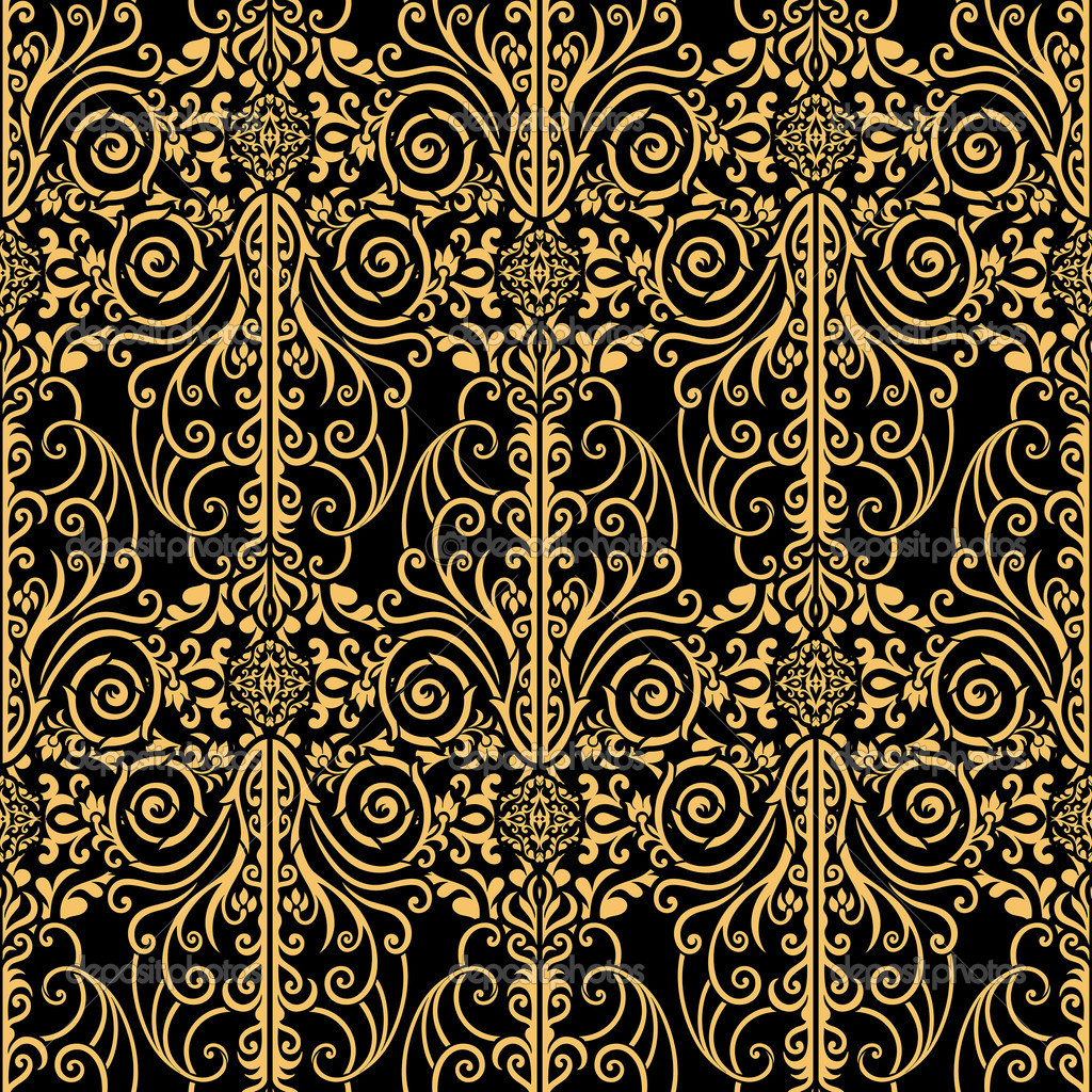 Abstract royal gold and black vintage background Stock Photo 1024x1024