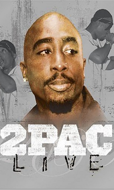2Pac Wallpapers app download for Android 480x800
