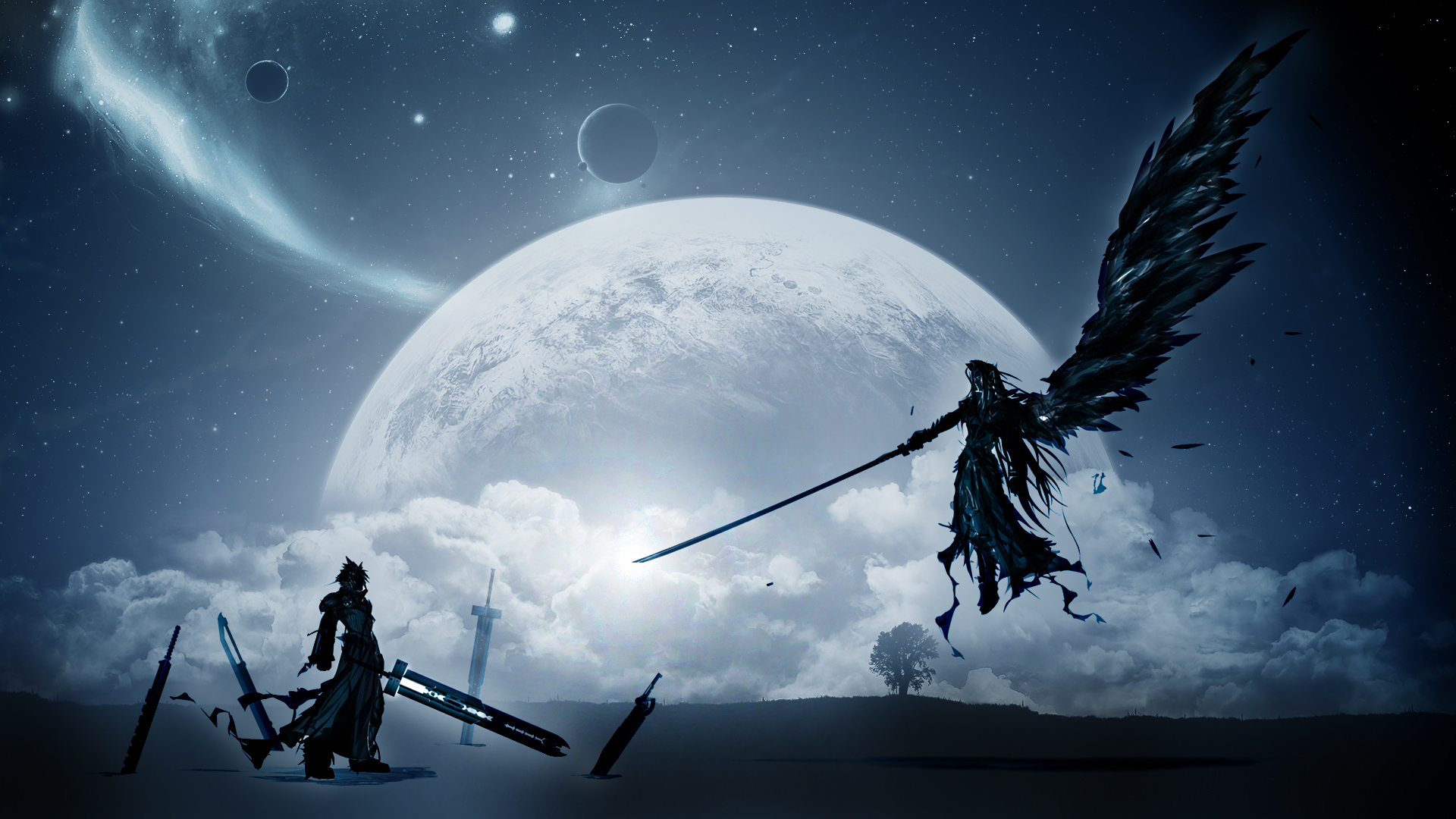Cloud Vs Sephiroth wallpaper   1179644 1920x1080
