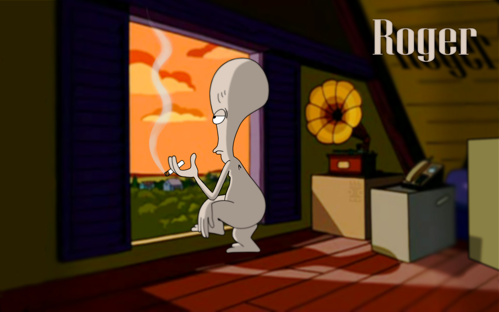 roger american dad wallpaper wallpapersafari