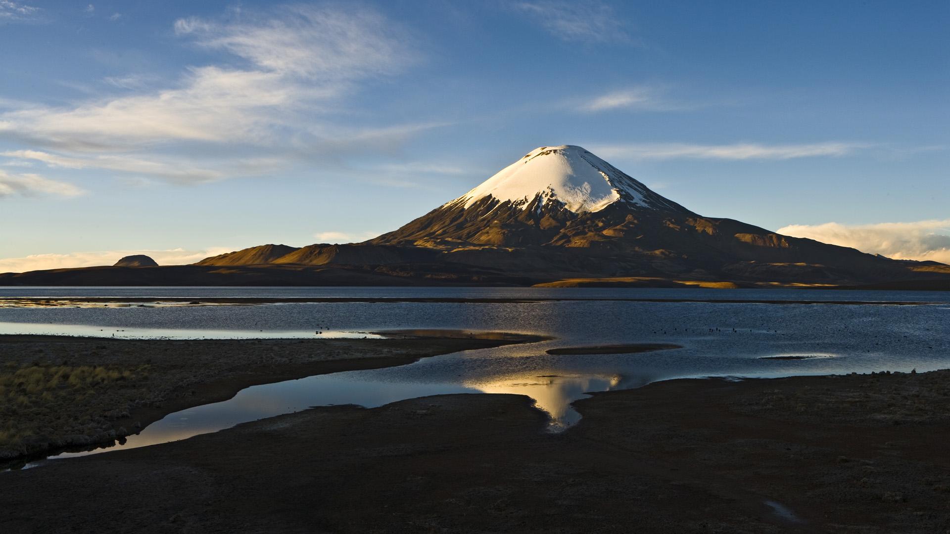 Parinacota Volcano HD Wallpaper Background Images 1920x1080
