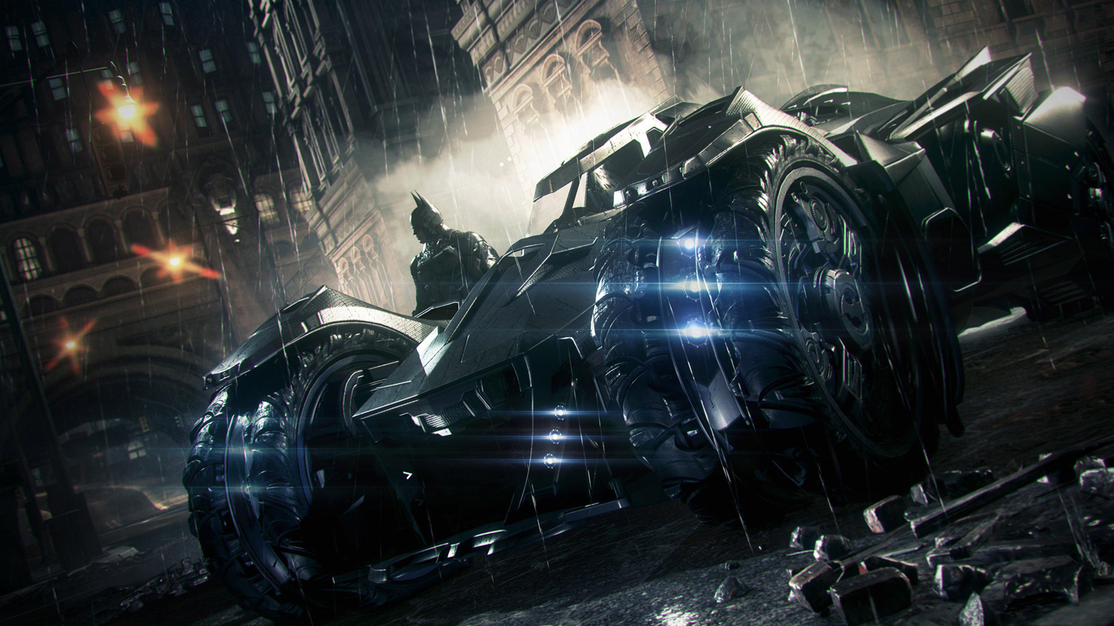 Exclusive 2014 Batmobile Batman Arkham Knight HD Wallpapers 3840x2160