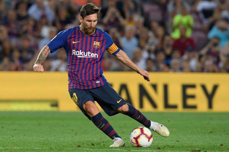 Tanpa Ronaldo Messi Tetap Garang di La Liga 800x533
