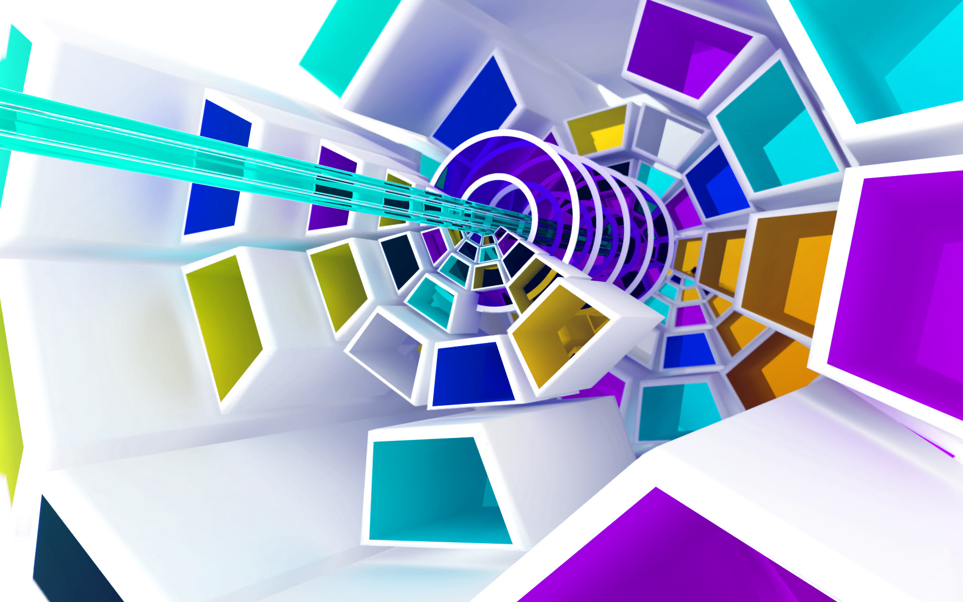 Chromatic of three dimensional design Wallpapers   HD Wallpapers 80702 1920x1200