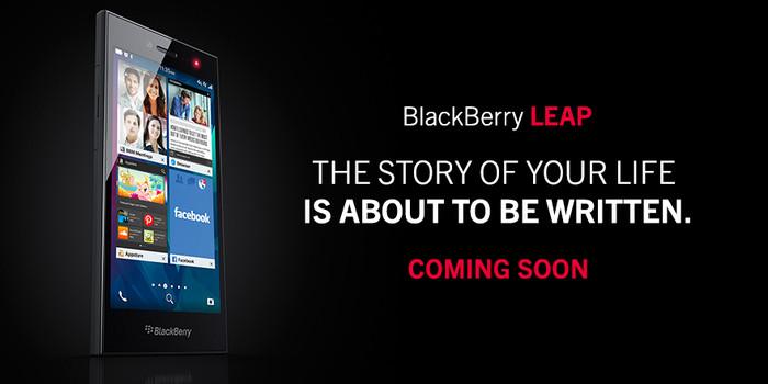 BlackBerry announces the BlackBerry Leap CrackBerrycom 700x350