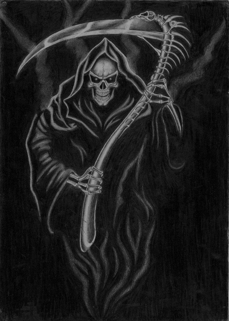 Cool grim reaper wallpapers wallpapersafari - Badass screensavers ...
