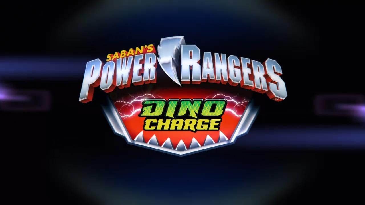 Power rangers Dino Charge Logo Power Rangers Power rangers 1280x720