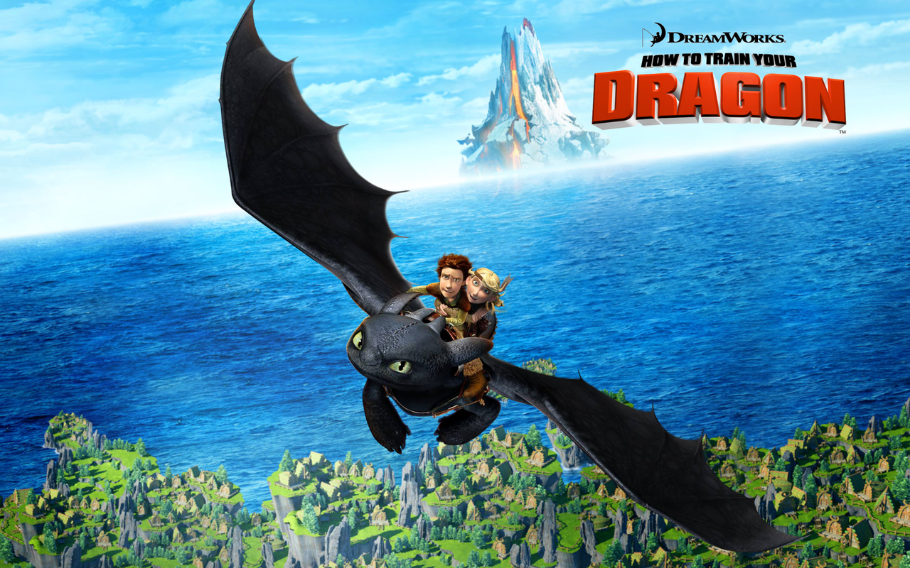 how to train your dragon - HD1280×800