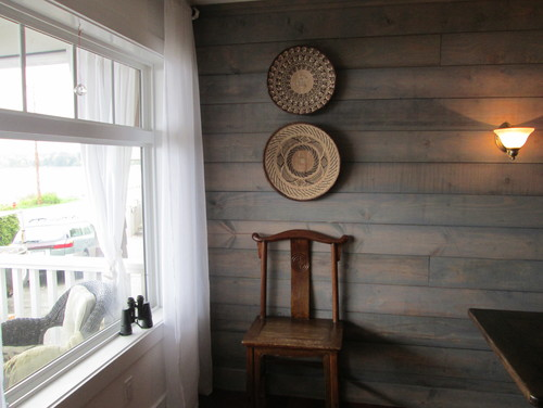 what is on the shiplap is it stain or paint 500x376