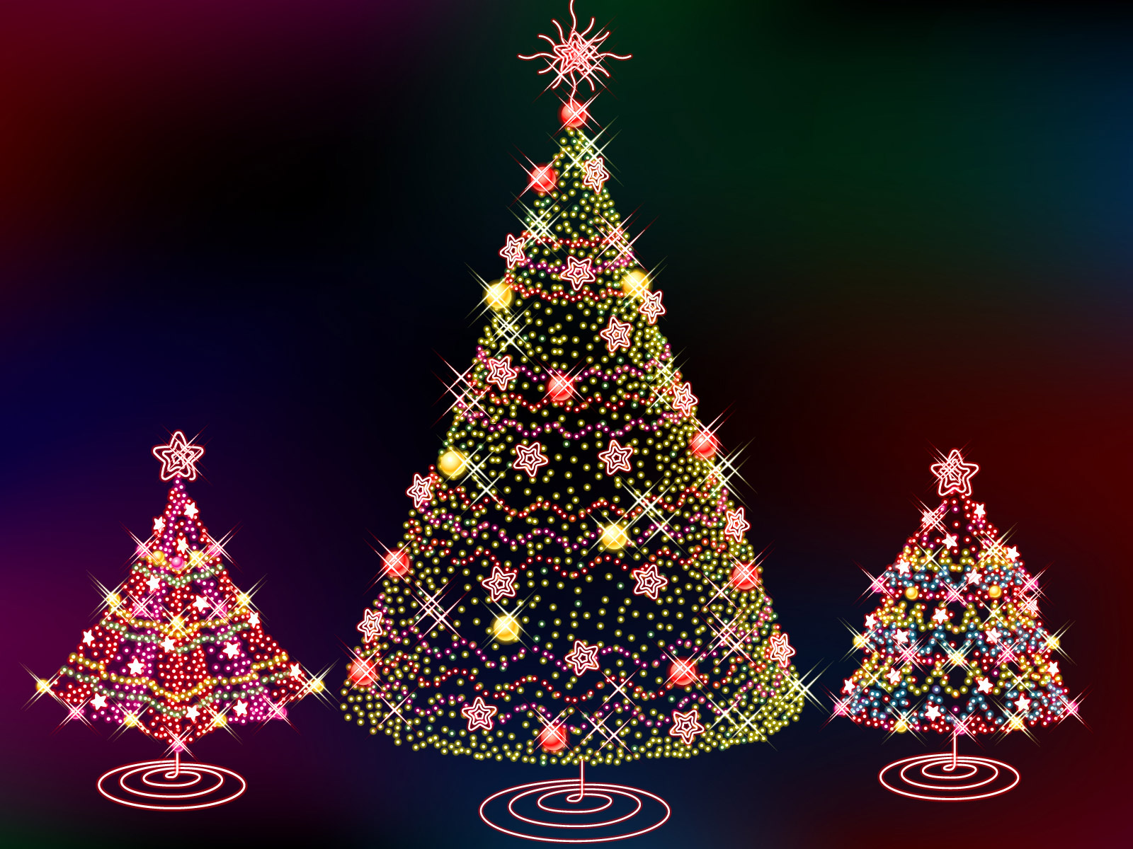 Christmas Tree WallpaperComputer Wallpaper Wallpaper Downloads 1600x1200