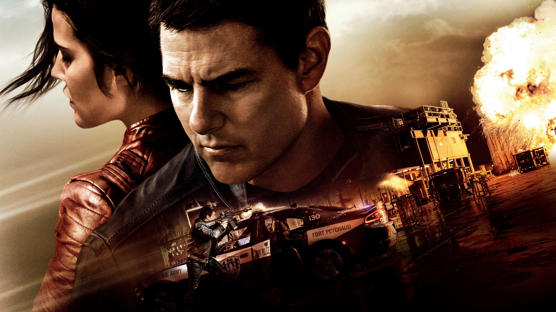 Download wallpaper 1920x1080 jack reacher never go back tom 1920x1080