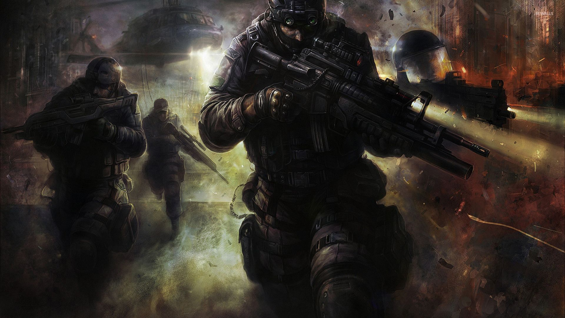 SWAT team wallpaper   Fantasy wallpapers   29720 1920x1080