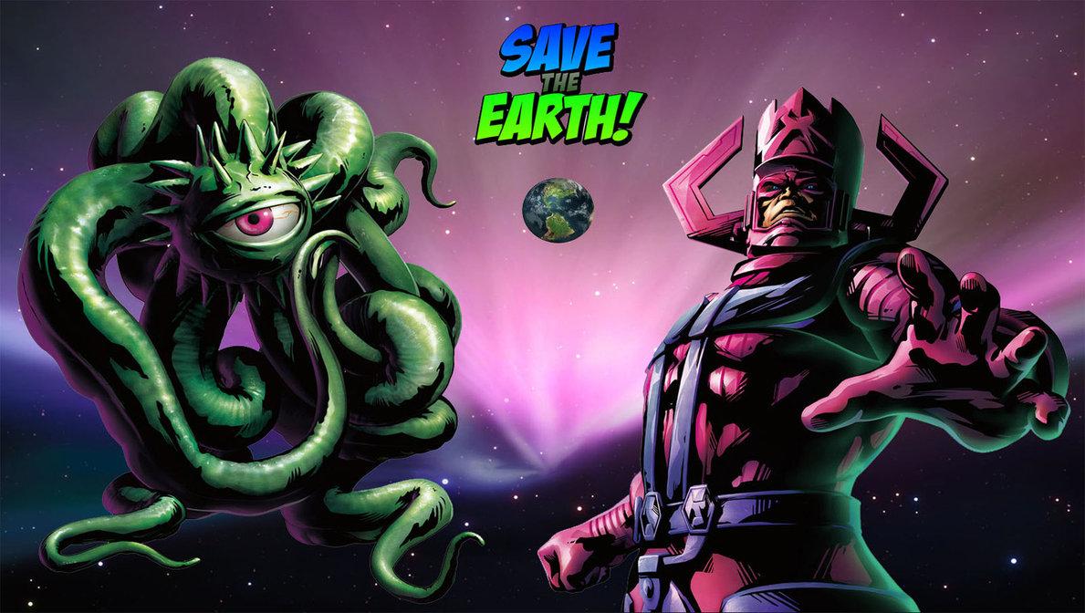 Shuma Gorath Vs Galactus by YatmingC 1189x672