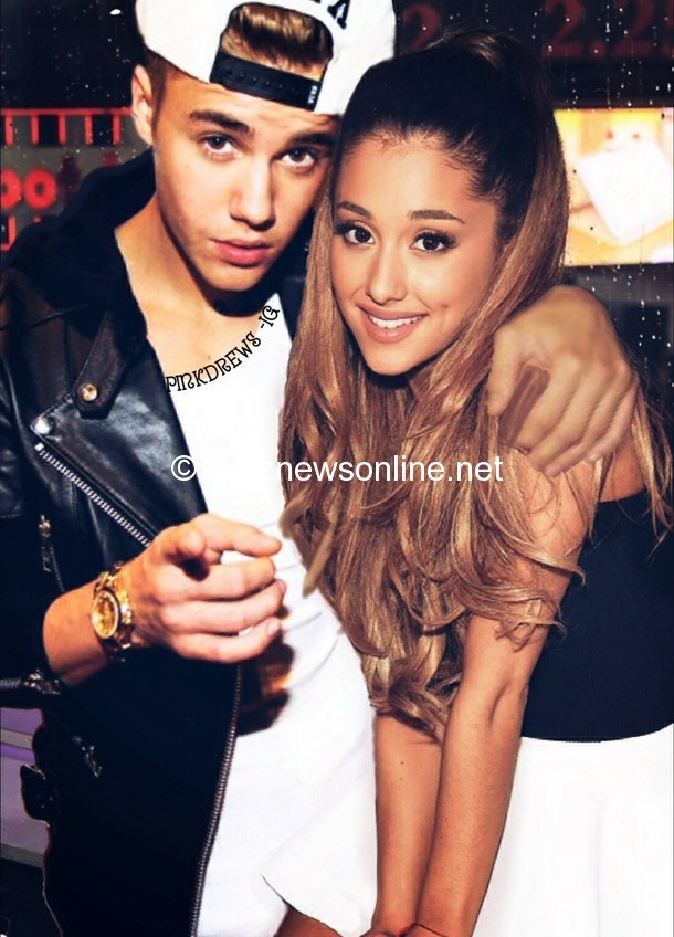 Image Gallery justin bieber and ariana 610x848