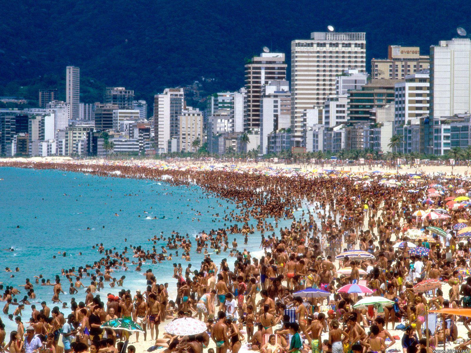 World Most Popular Places Rio de Janeiro Beaches Brazil Wallpapers 1600x1200
