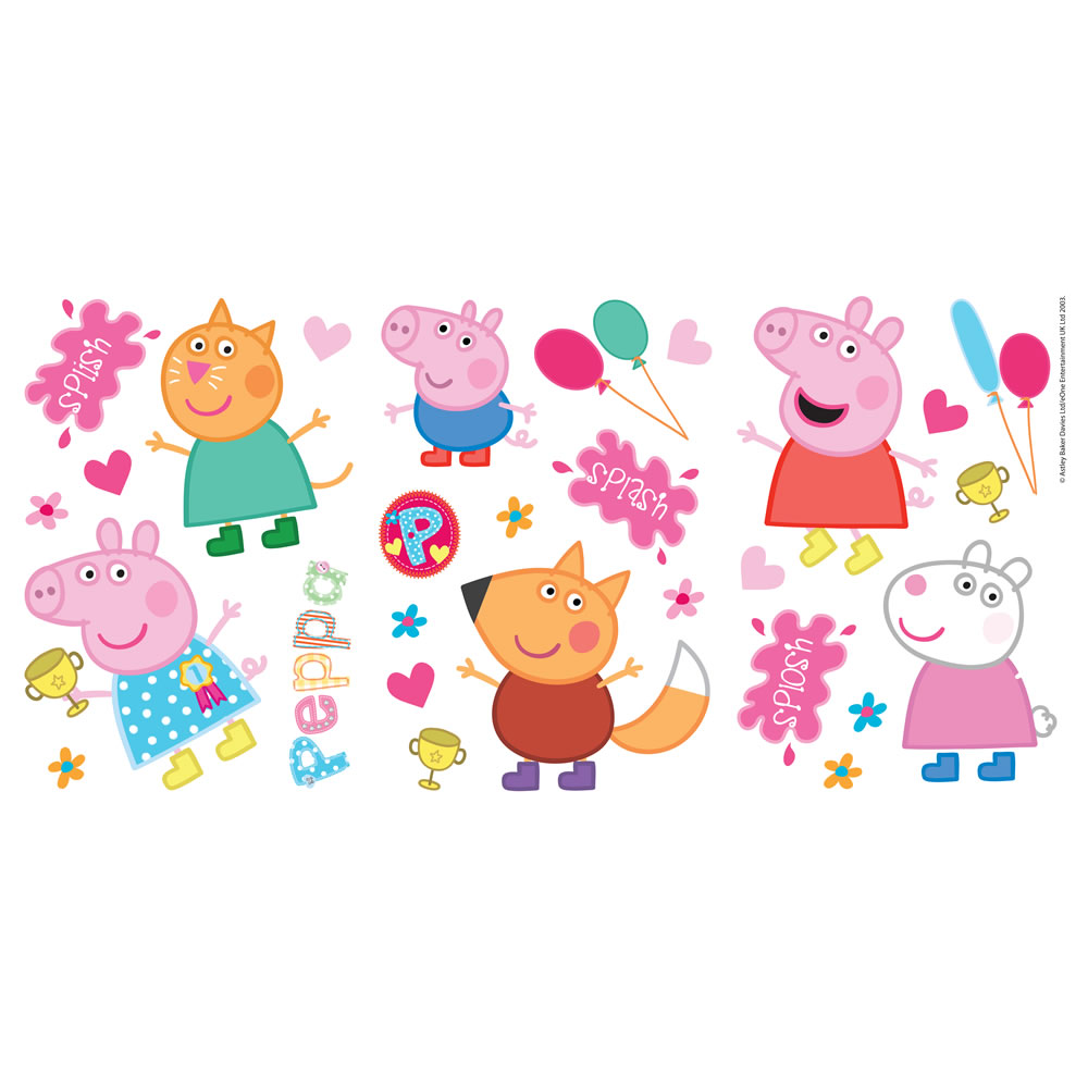 Peppa Pig 2014 Stickers at wilkocom 1000x1000