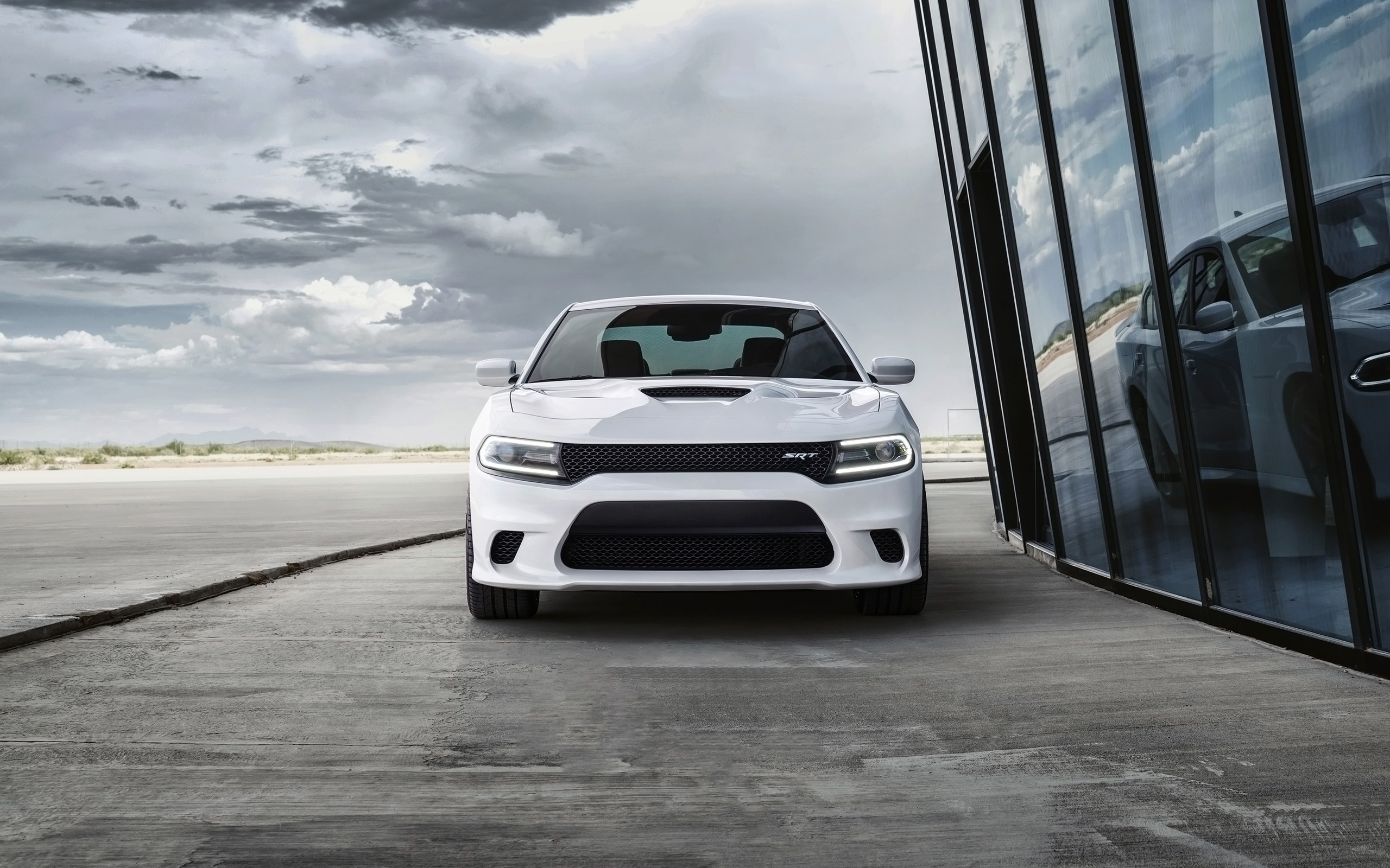 2015 dodge charger srt hellcat glass 6 2560x1600 wallpaper