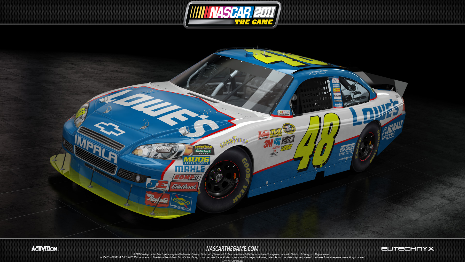 Jimmie Johnson   NASCAR 2011 wallpaper   ForWallpapercom 1920x1080
