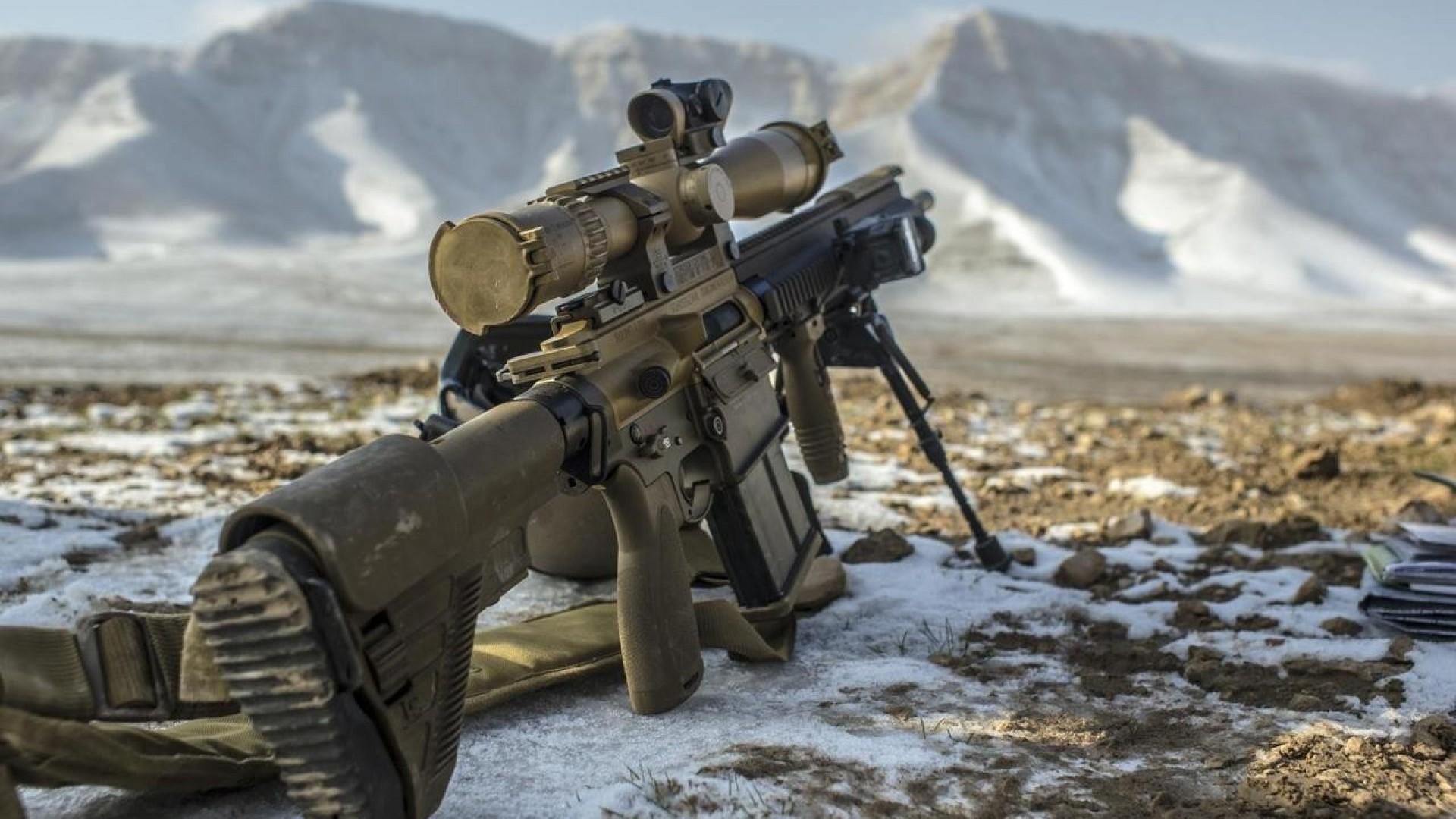 13 HD Sniper Rifle Guns Wallpapers 1920x1080