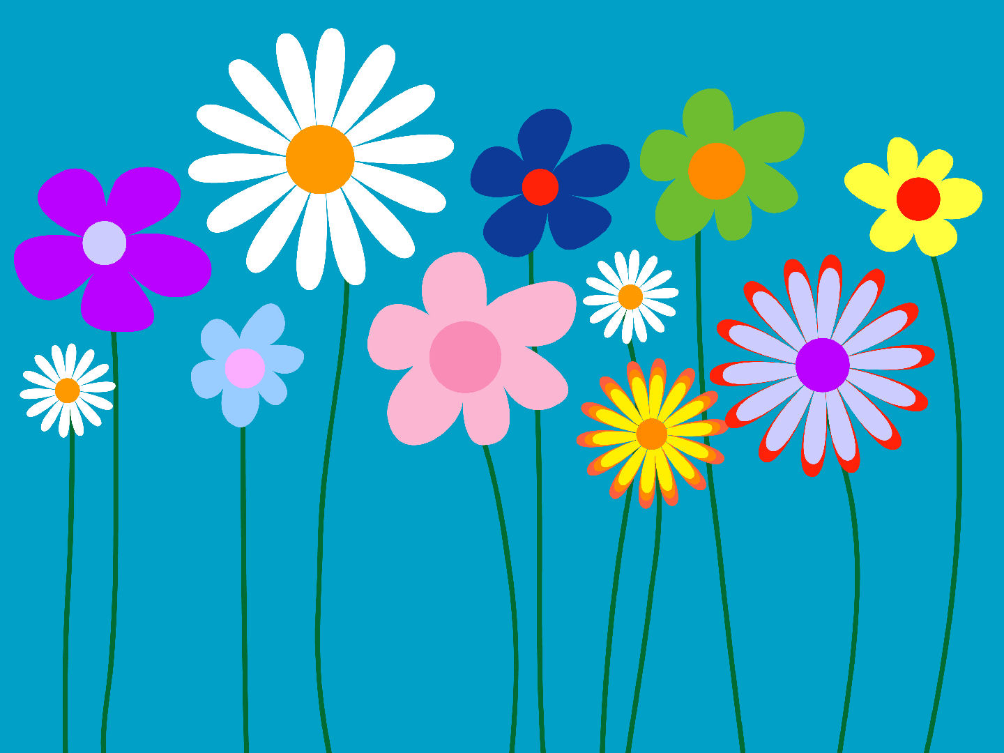 Cute Flowers Twitter Backgrounds Cute Flowers Twitter Themes 1440x1080