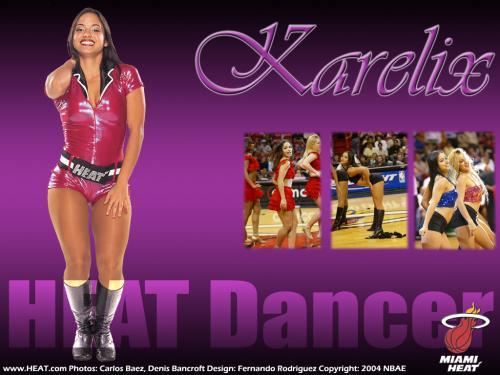 free miami heat dancer karelix wallpapers enjoy miami heat dancer 500x375