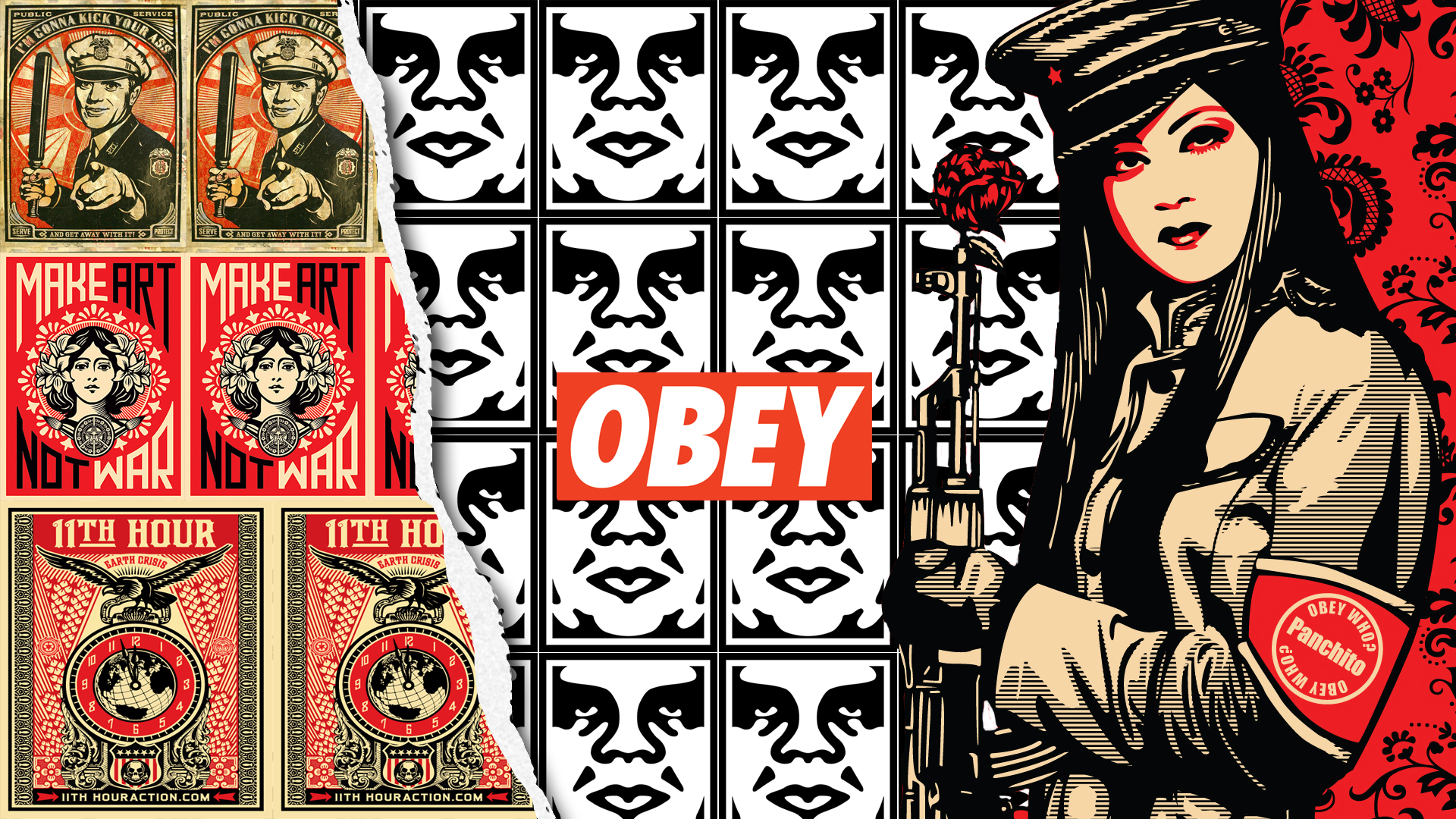 Obey Wallpaper 1920x1080 by JayGunnink 1920x1080
